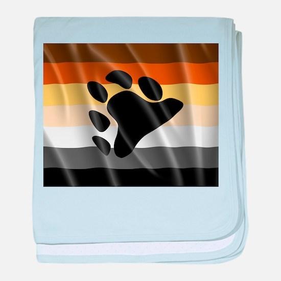 BEAR PRIDE FLAG baby blanket