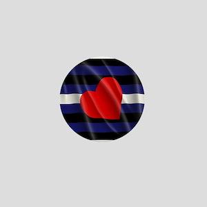 LEATHER PRIDE FLAG Mini Button