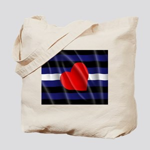 LEATHER PRIDE FLAG Tote Bag