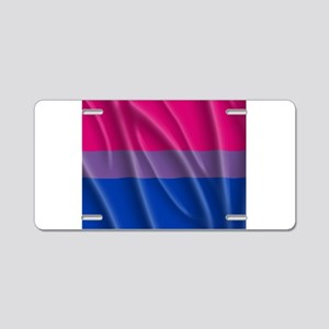 BISEXUAL PRIDE FLAG Aluminum License Plate