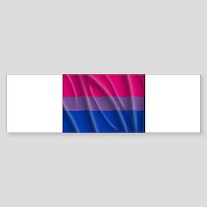 BISEXUAL PRIDE FLAG Bumper Sticker