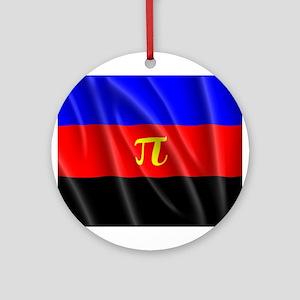 POLYAMORY FLAG Ornament (Round)
