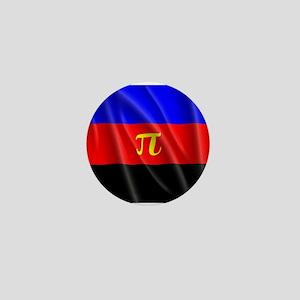 POLYAMORY FLAG Mini Button