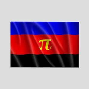 POLYAMORY FLAG Rectangle Magnet
