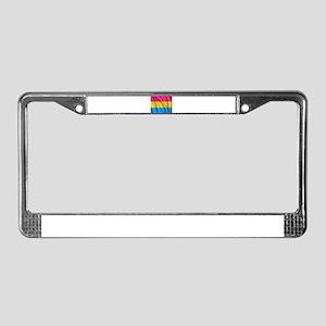 PANSEXUAL PRIDE License Plate Frame