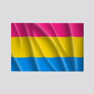 PANSEXUAL PRIDE Rectangle Magnet