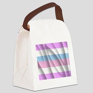 INTERSEX PRIDE FLAG Canvas Lunch Bag