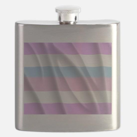 INTERSEX PRIDE FLAG Flask