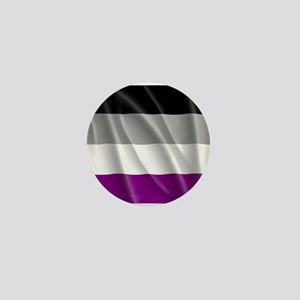 ASEXUAL PRIDE FLAG Mini Button