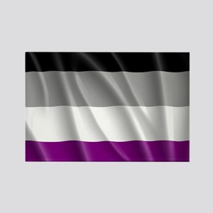 ASEXUAL PRIDE FLAG Rectangle Magnet