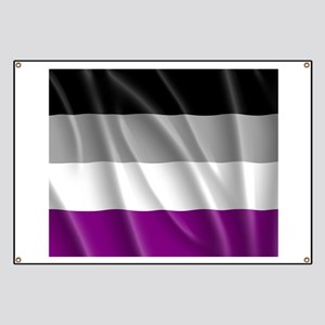 ASEXUAL PRIDE FLAG Banner