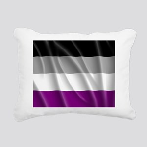 ASEXUAL PRIDE FLAG Rectangular Canvas Pillow