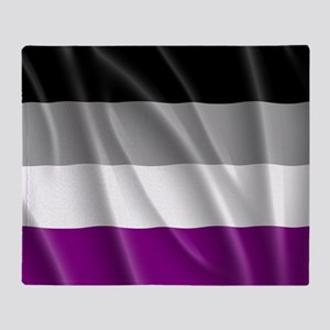 ASEXUAL PRIDE FLAG Throw Blanket