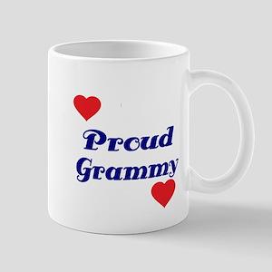 Proud Grammy with hearts Mug