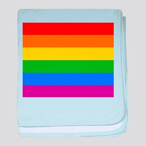 GAY PRIDE FLAG - RAINBOW FLAG baby blanket