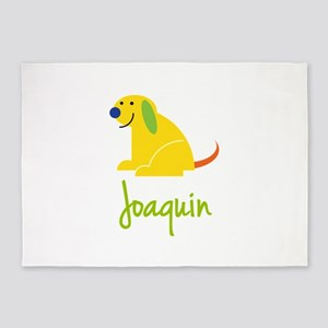 Joaquin Loves Puppies 5'x7'Area Rug