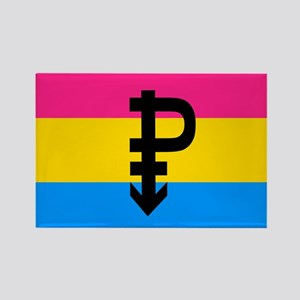 PANSEXUAL Rectangle Magnet
