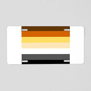 BEAR FLAG Aluminum License Plate