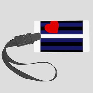 LEATHER FLAG Luggage Tag