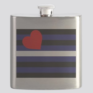 LEATHER FLAG Flask