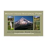 Mount Hood National Park Campaign Poster