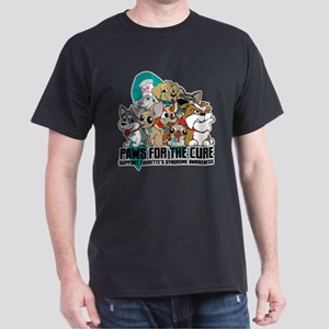 Tourette's Syndrome Puppy Group Dark T-Shirt
