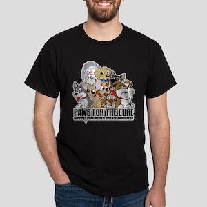 Parkinson's Disease Puppy Group Dark T-Shirt