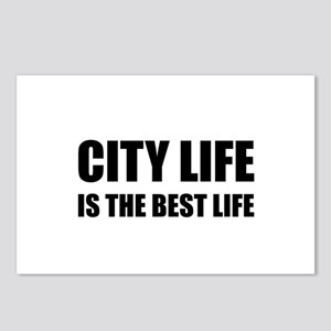 City Life Best Life Postcards (Package of 8)