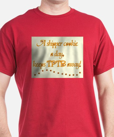 A Shipper Cookie A Day Colored T-Shirt