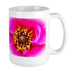 Digital Art Pink Dahlia Mug
