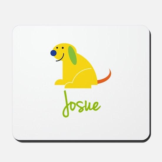 Josue Loves Puppies Mousepad