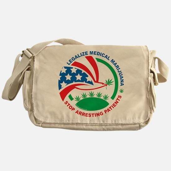 Legalize Marijuana Stop Arres Messenger Bag