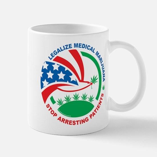 Legalize Marijuana Stop Arres Mug