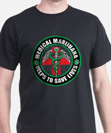 Medical Marijuana Helps T-Shirt