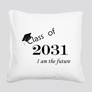 Born in 2013/Class of 2031 Square Canvas Pillow