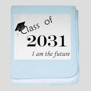 Born in 2013/Class of 2031 baby blanket