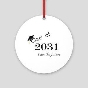 Born in 2013/Class of 2031 Ornament (Round)