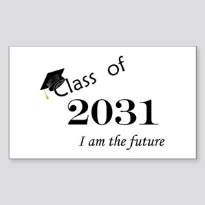 Born in 2013/Class of 2031 Sticker (Rectangle)