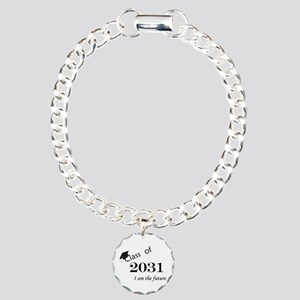 Born in 2013/Class of 2031 Charm Bracelet, One Cha