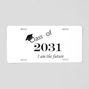 Born in 2013/Class of 2031 Aluminum License Plate