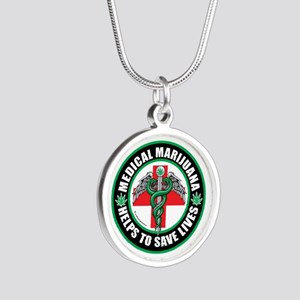 Medical-Marijuana-Helps-Saves-Lives Necklaces