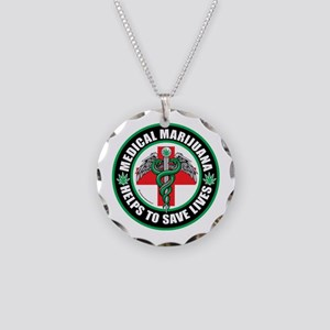 Medical-Marijuana-Helps-Saves-Lives Necklace