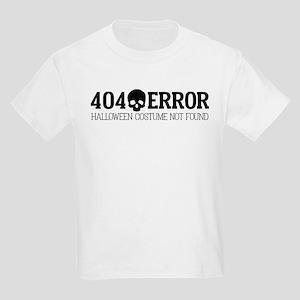 404 Error Halloween Costume Not Kids Light T-Shirt