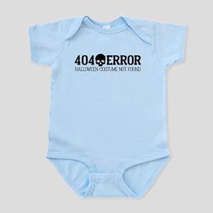 404 Error Halloween Costume Not Fo Infant Bodysuit