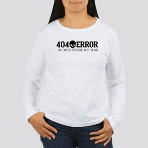 404 Error Halloween Co Women's Long Sleeve T-Shirt