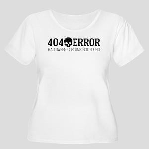 404 Error Hal Women's Plus Size Scoop Neck T-Shirt