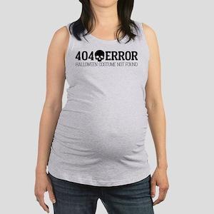 404 Error Halloween Costume Not Maternity Tank Top