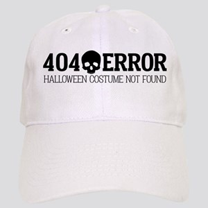 404 Error Halloween Costume Not Found Cap