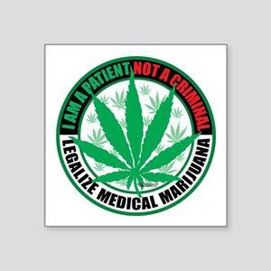 Patient-not-Criminal-2009 Sticker