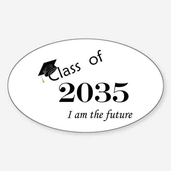 Born in 2013/Class of 2035 Sticker (Oval)